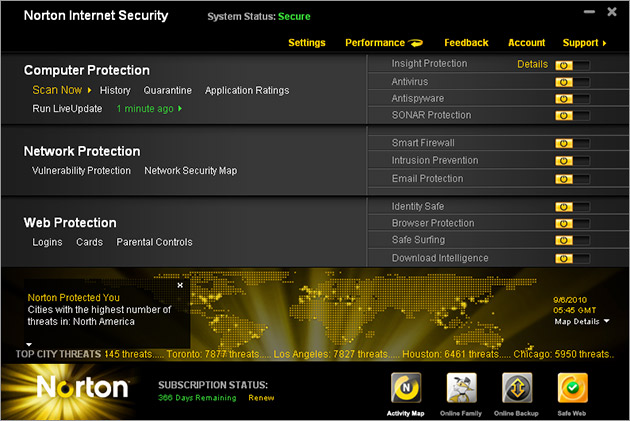 Norton internet security download for windows
