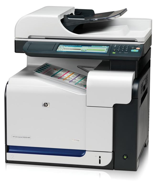 HP LaserJet CM 3530 Printer Driver
