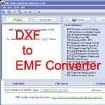 DXF to EMF Converter screenshot