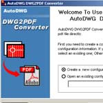 DXF to PDF Converter screenshot