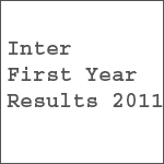 Inter 1st Year Results 2011 With Marks