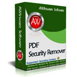 AWinware PDF Security Remover