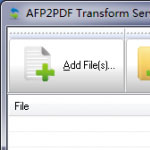 AFP2PDF Transform Server Download