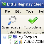 Little Registry Cleaner screenshot