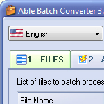 Able WMV converter Download screenshot