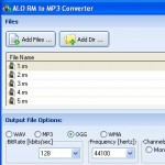 Alo WMA converter Download screenshot