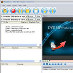 Winxmedia DVD Video To MP4 Converter screenshot