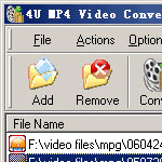 Avi to Mp4 Video Converter screenshot