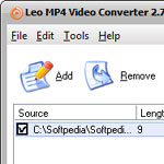 Leo MP4 Video Converter screenshot