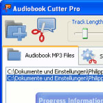 Audiobook MP3 Audio Cutter Pro screenshot