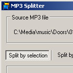 Split MP3 screenshot