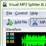 Visual MP3 Splitter Joiner screenshot