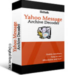 Yahoo Messenger Archive Decoder screenshot