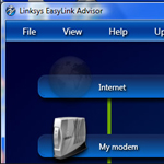 Linksys EasyLink Advisor Software Download screenshot