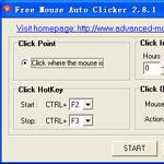Free Mouse Auto Clicker 3.0