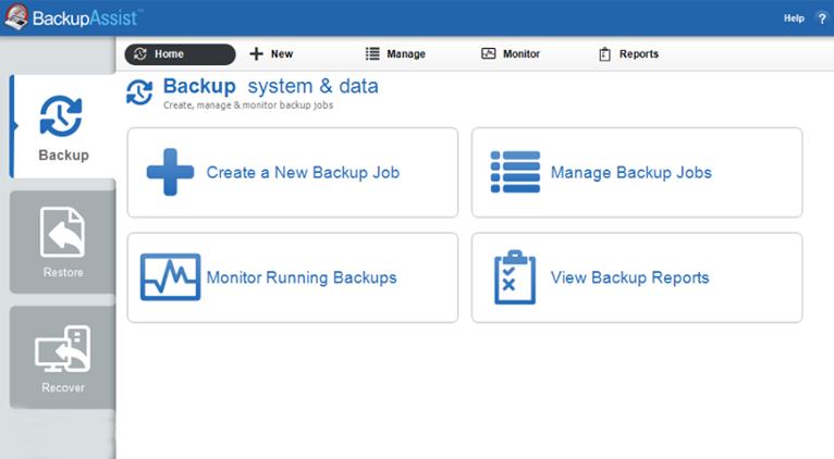 Top 4 data backup and recovery software's free download for servers